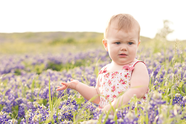Tiptoe Through The Bluebonnets With A Terrified Toddler