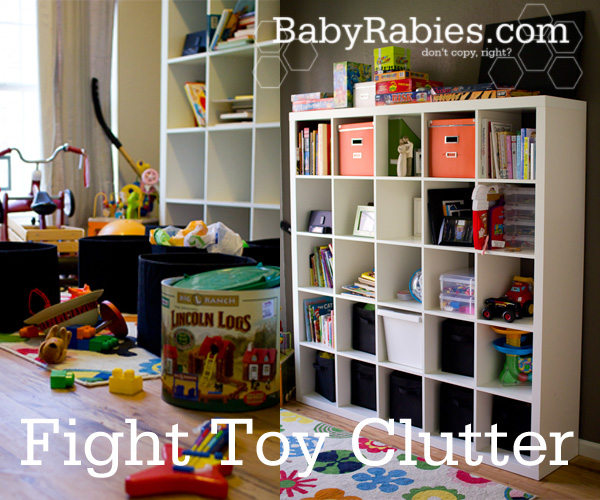 Fight Toy Clutter And Win