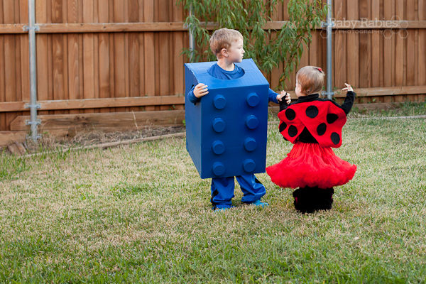 Easy DIY Halloween Costumes: LEGO & Ladybug