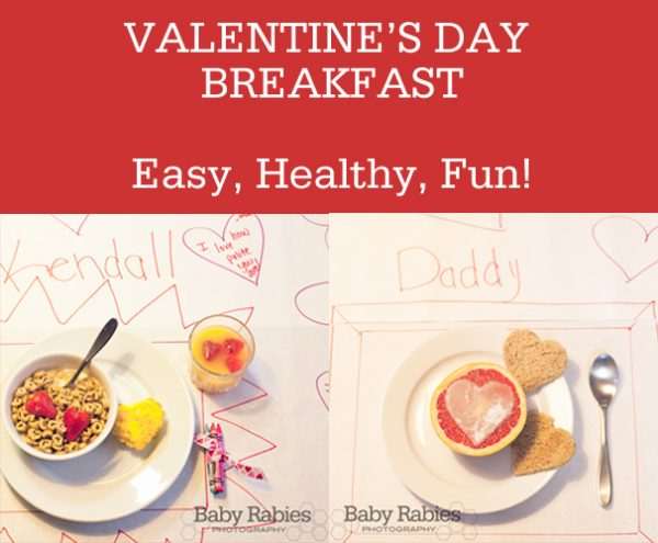 You Can Do This! Easy Valentine's Breakfast Ideas