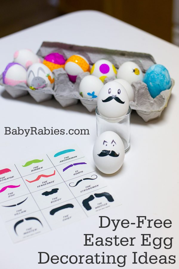 Dye-Free Ways To Decorate Easter Eggs
