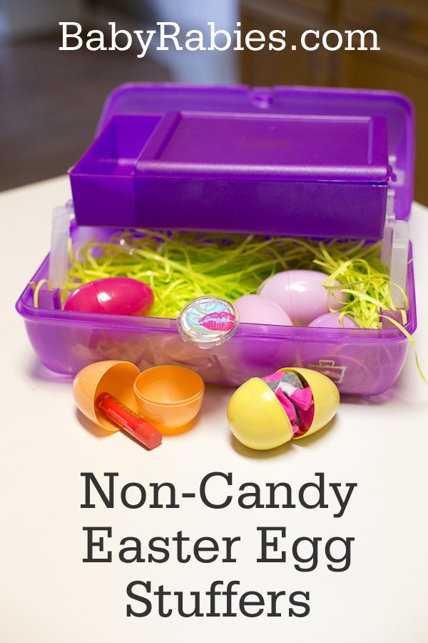 Non-Candy Easter Egg Stuffer Ideas