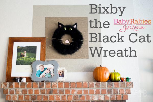 Bixby The Black Cat Halloween Wreath Tutorial