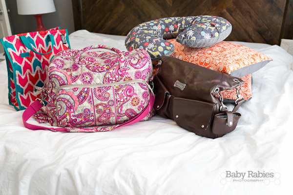 Baby Baggage- What I Took To The Hospital