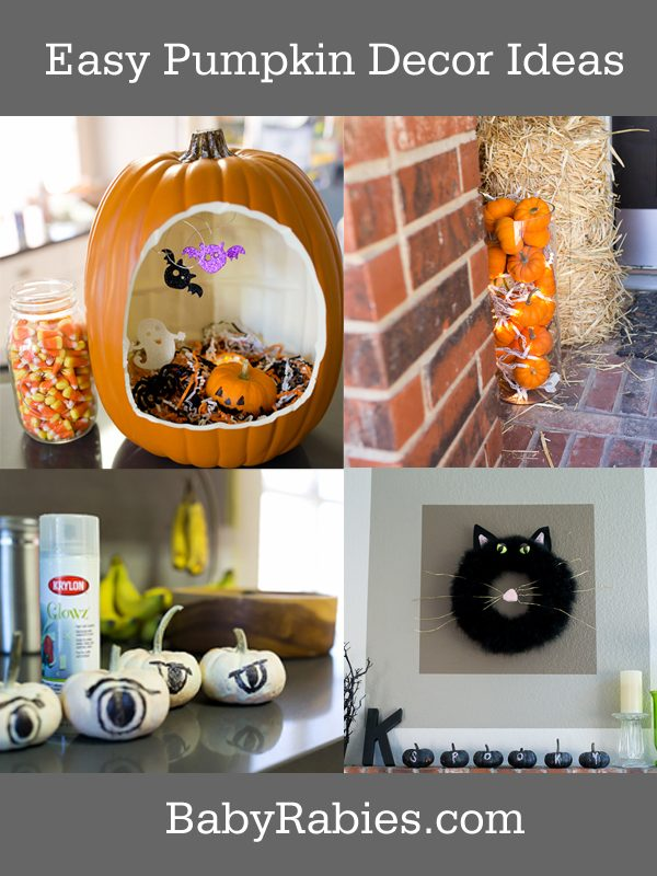 Last Minute Pumpkin Decor Ideas