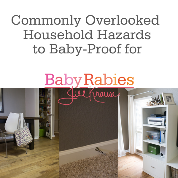 Commonly Overlooked Household Hazards to Baby-Proof for