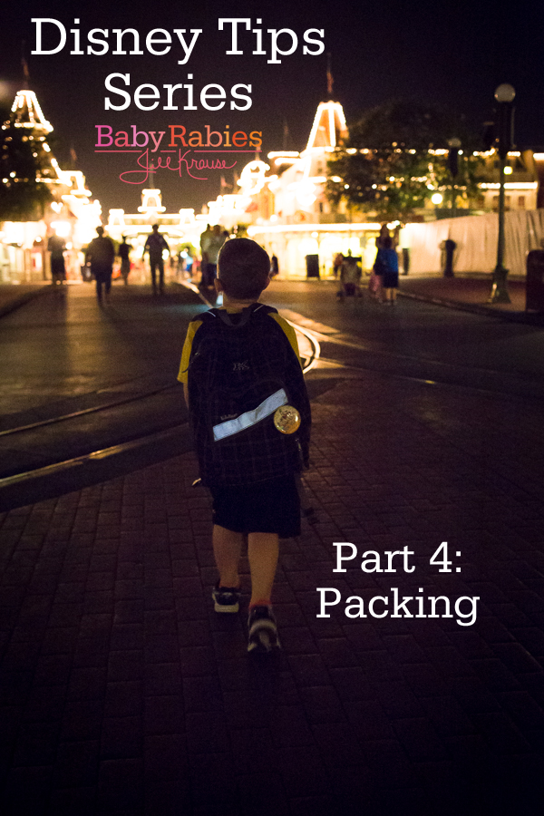 Tips For Packing For Disney World