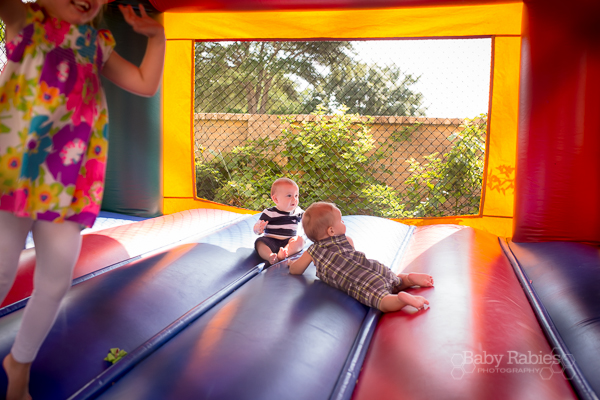 1st birthday bounce house