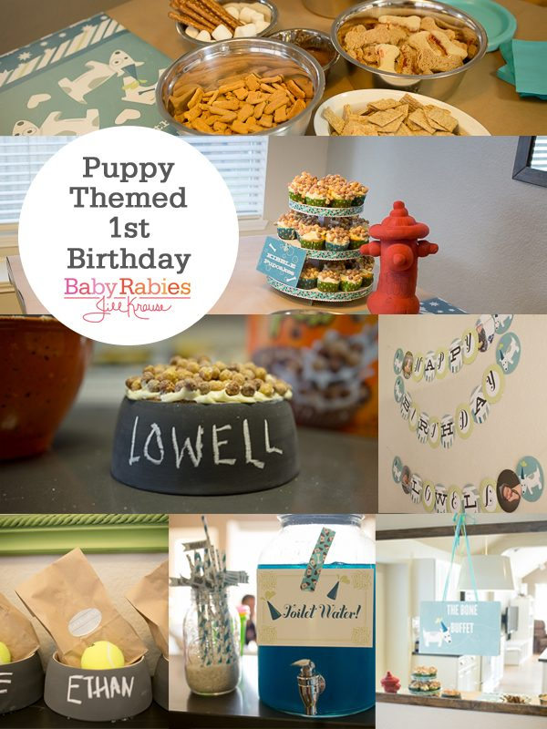 Puppy Themed 1st Birthday Party
