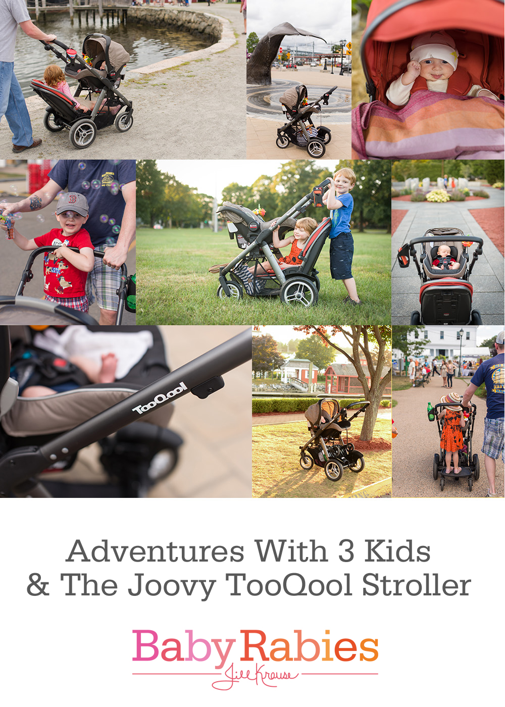 Adventures With 3 Kids & The Joovy TooQool Stroller {Contributor}