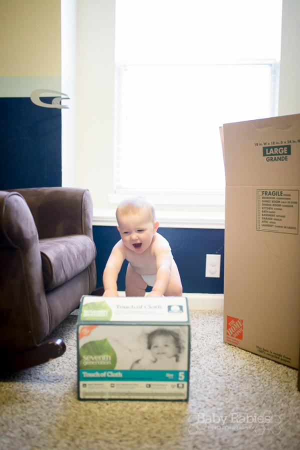 Seventh Generation diapers when I can