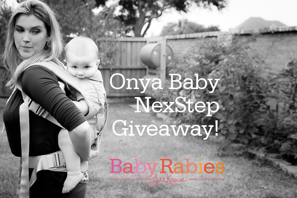 Babywearing/ Toddler Immobilizing Giveaway From Onya Baby
