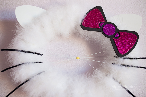Hello Kitty Inspired Wreath Tutorial