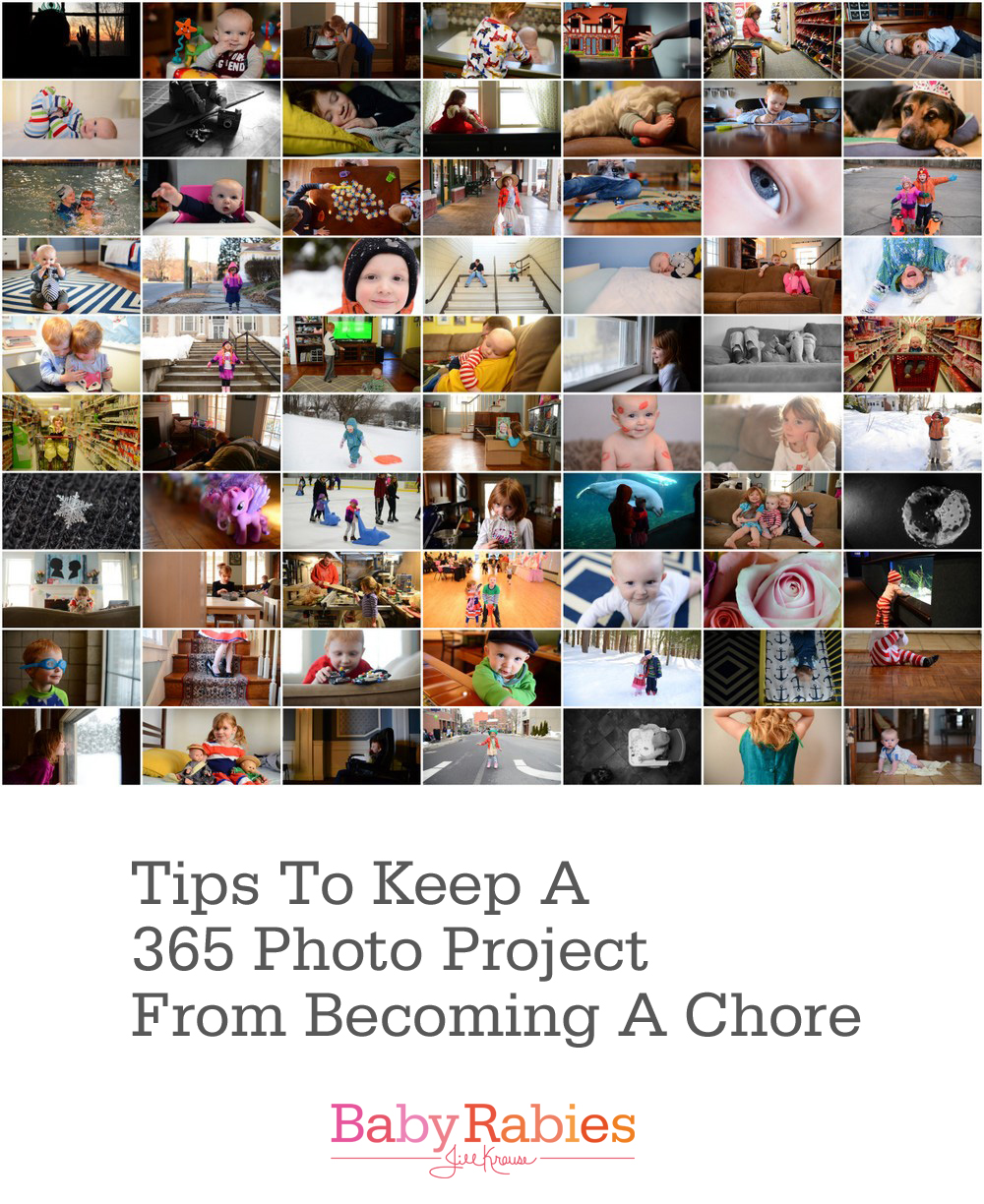 Tips To Keep a 365 Photo Project From Becoming A Chore {Contributor}