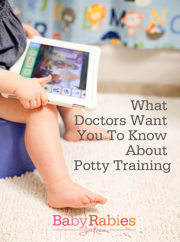 What Doctors Want You To Know About Potty Training {Contributor}