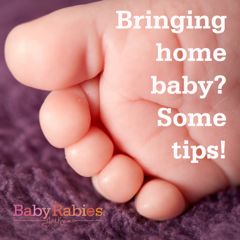 Bringing Home Baby? Here Are Some Tips