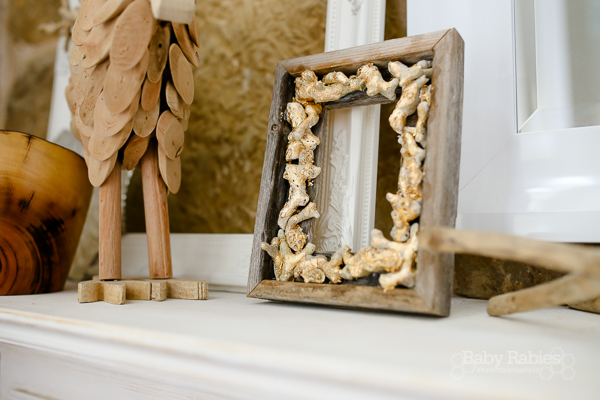 Gold Leaf Coral Frame Tutorial