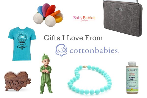 2015 Cotton Babies Gift Guide- Supporting Those Who Support Me
