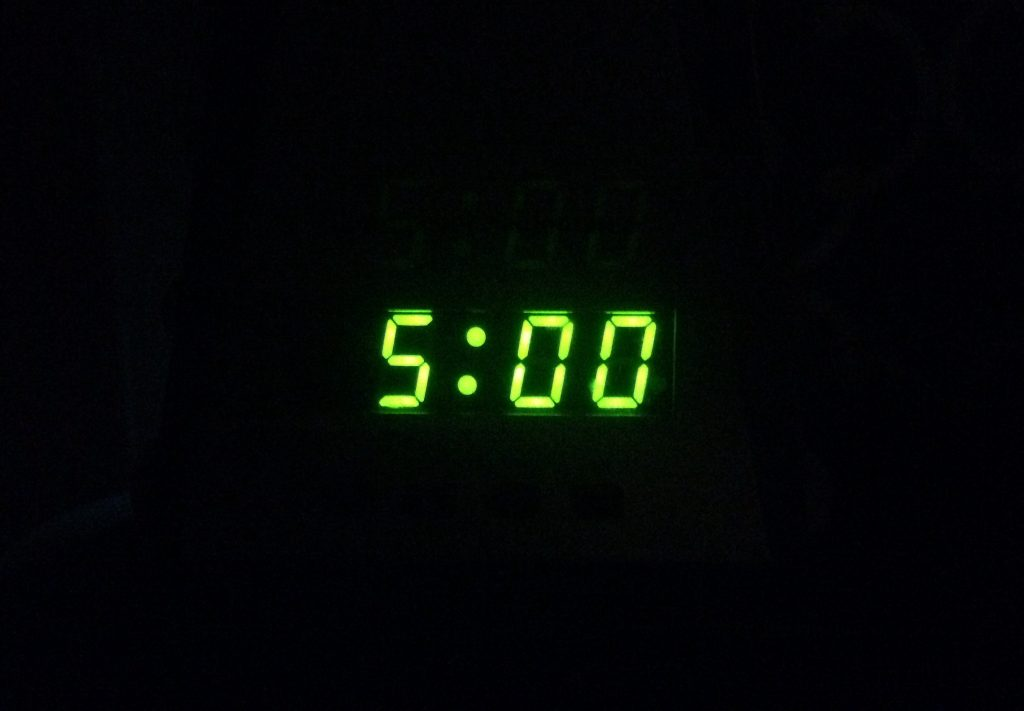 5am alarm clock