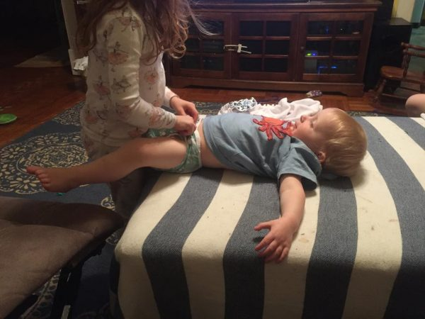 24 Hours With Cloth Diapers {Contributor}