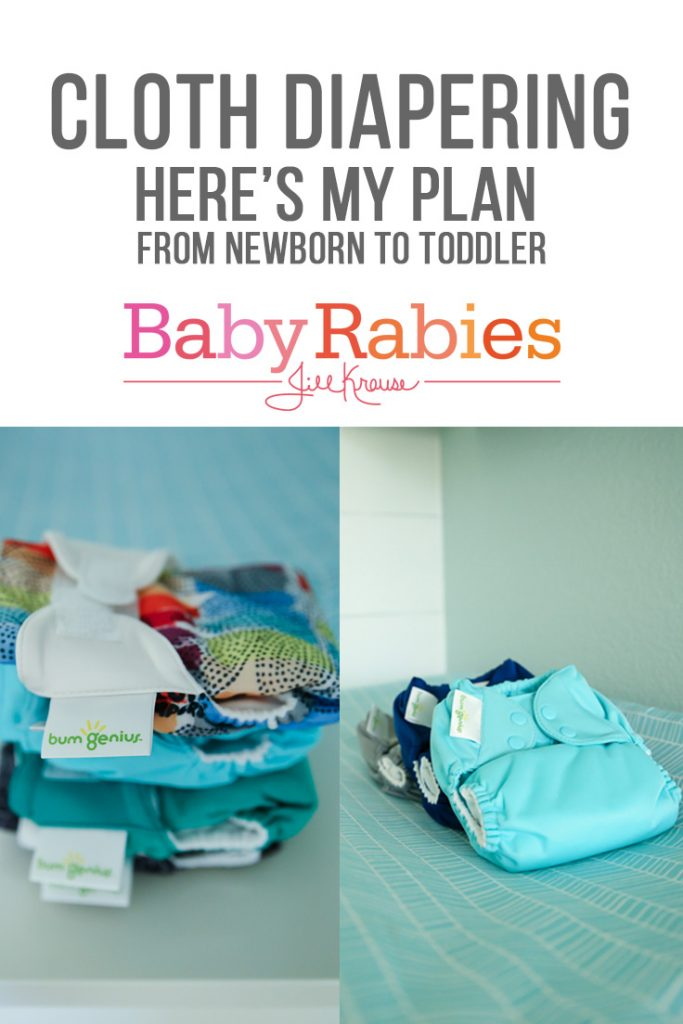 My Cloth Diaper Plan for Baby #4 | BabyRabies.com
