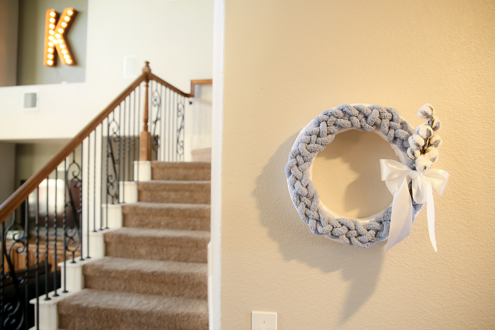 Braided Wreath DIY – Another Simple, Fast Holiday Wreath