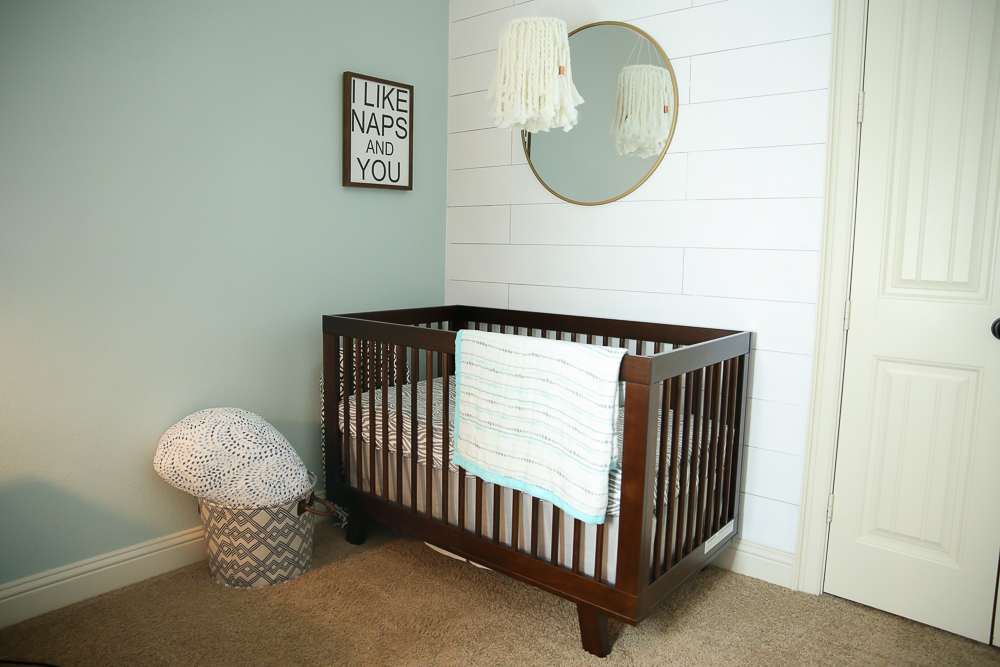 Master bedroom nursery nook reveal Master bedroom plus nursery
