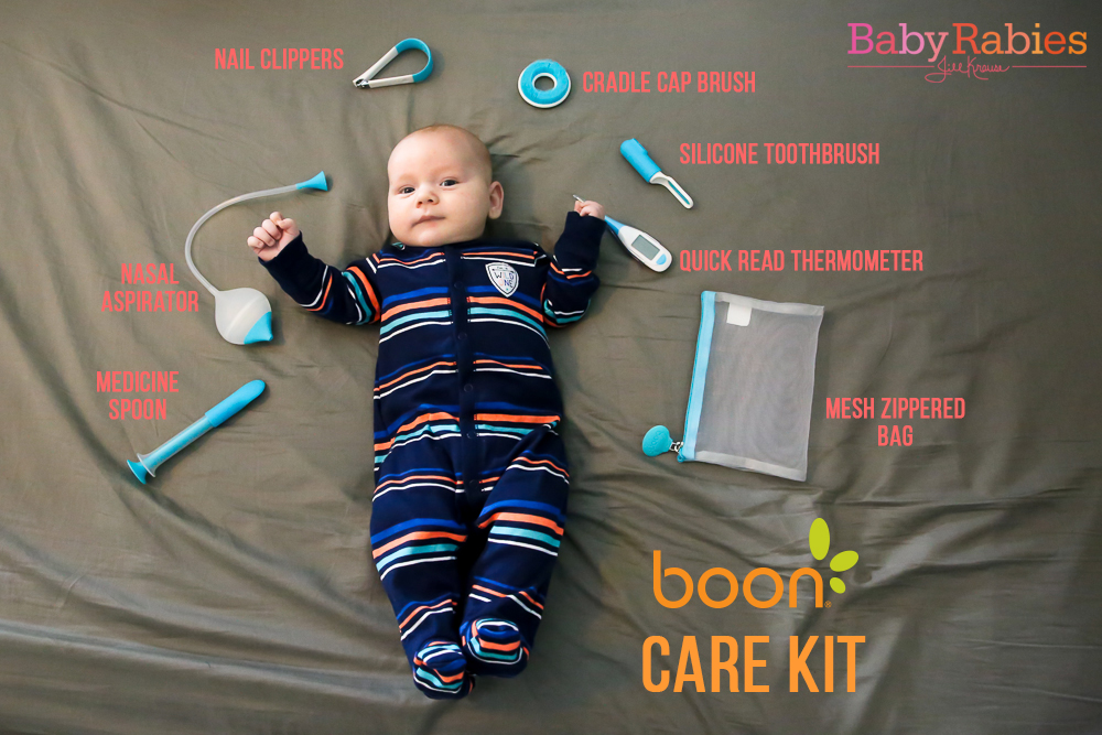 Boon CARE Health & Grooming Kit | BabyRabies.com