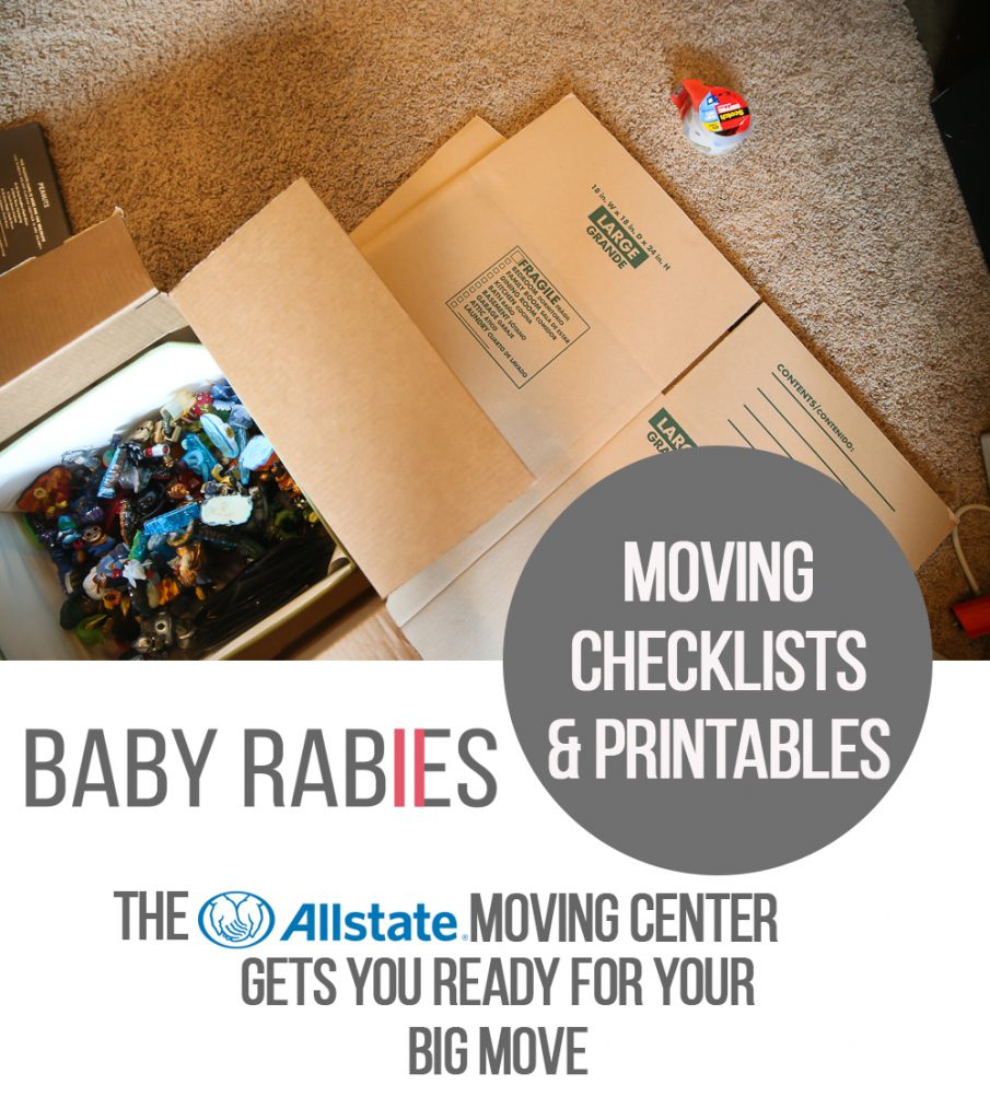 Checking Off This Moving Check List | BabyRabies.com