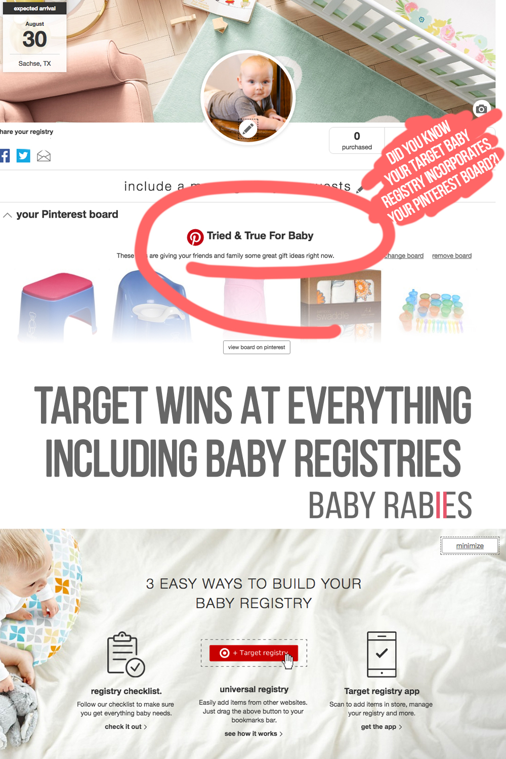 Target Wins At Everything, Including Baby Registries