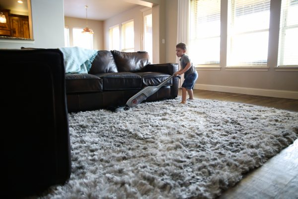 A Boy And His Vacuum