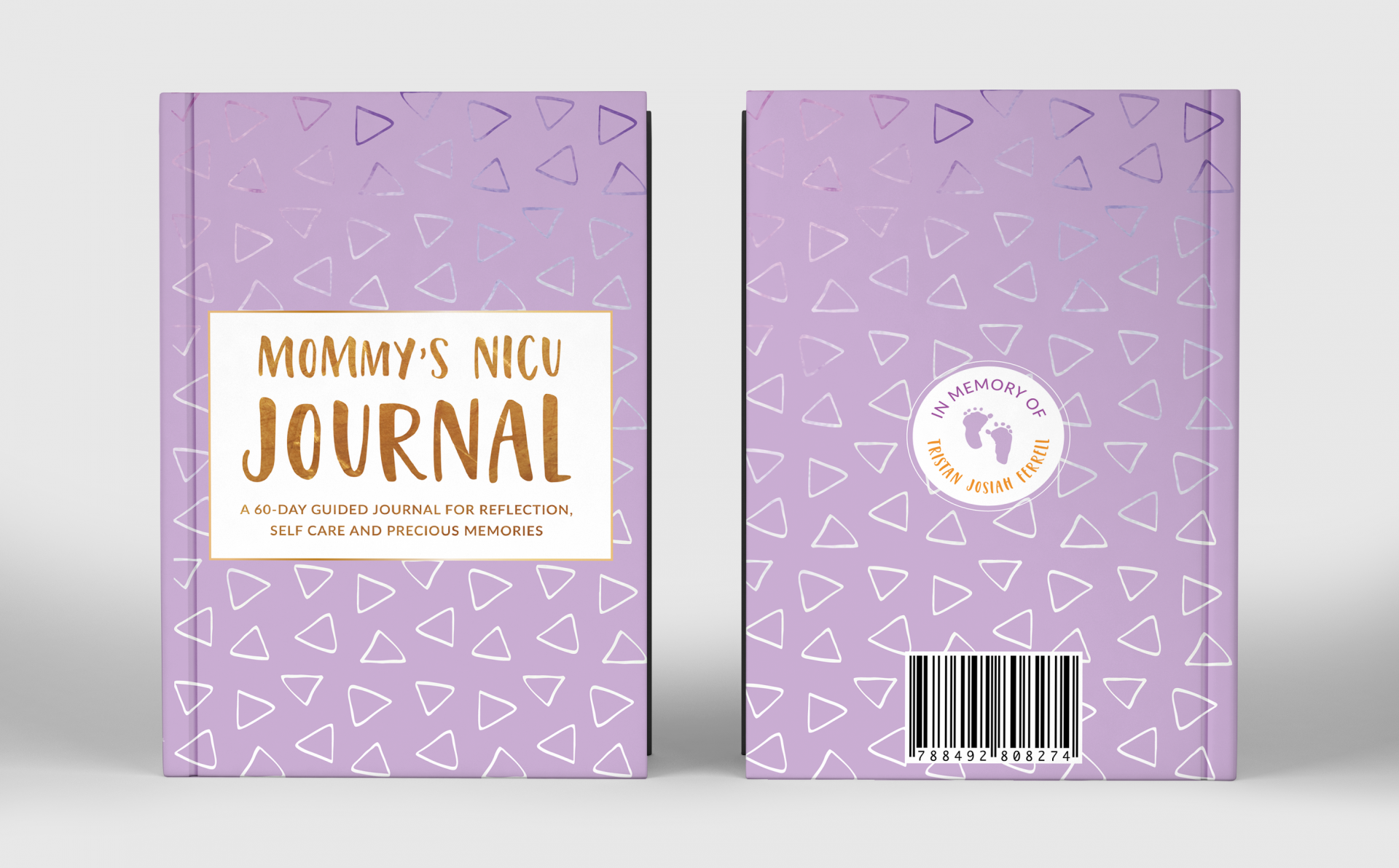 This Journal Was Created To Help NICU Moms Through Their Journey
