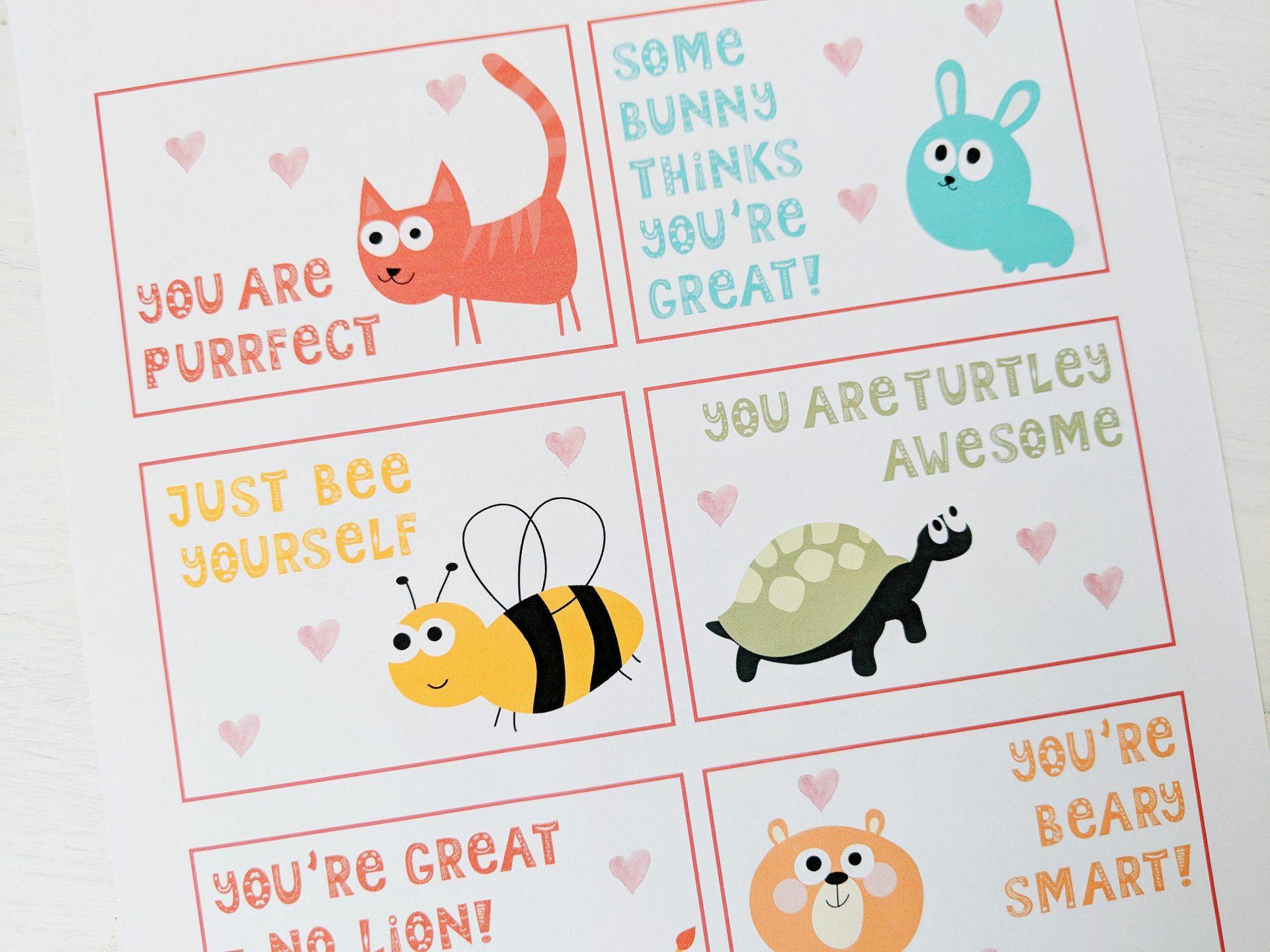 Free Last-Minute Printable Valentines