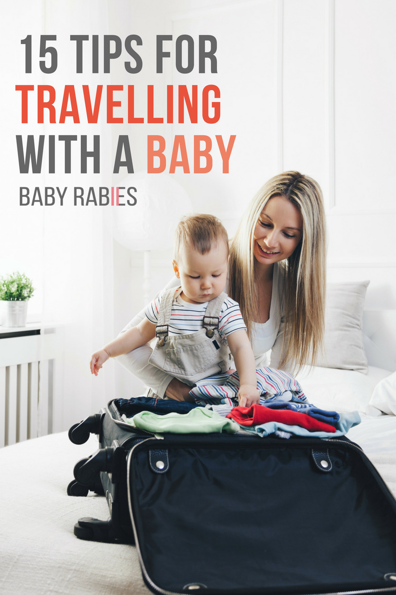 15 Tips For Travelling With A Baby