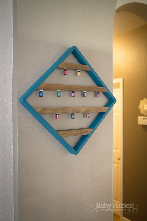 Essential Oil Rack, Handcrafted by The Oil Tree for BabyRabies.com