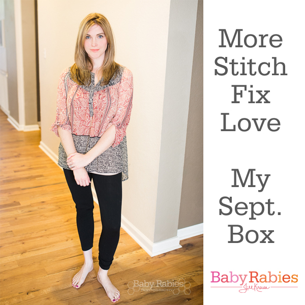 What I loved from my September Stitch Fix Box