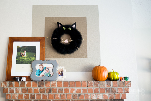 Bixby The Black Cat Wreath- BabyRabies.com