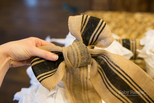 Ruffled Rag Wreath Tutorial | BabyRabies.com- Make a gorgeous wreath from CHEAP rags. Super simple!