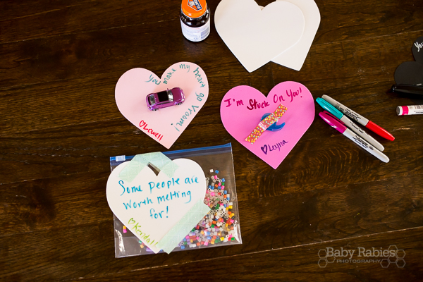 Easy DIY, no candy Valentines | BabyRabies.com