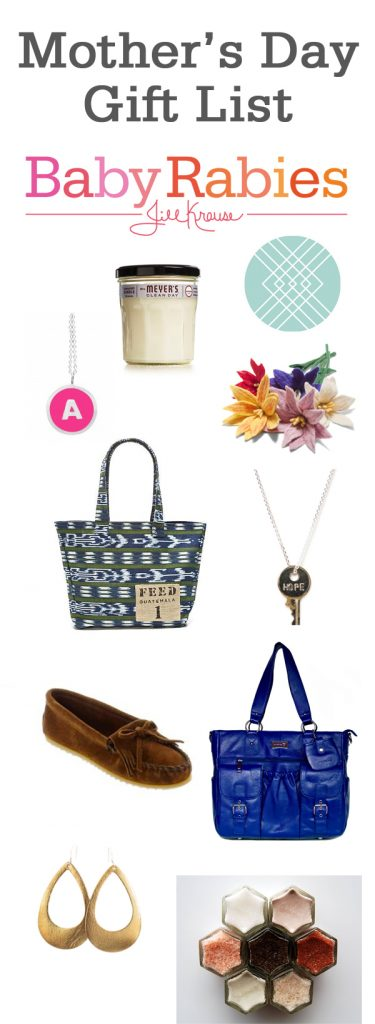 Mothers Day Gift List 2015 | BabyRabies.com