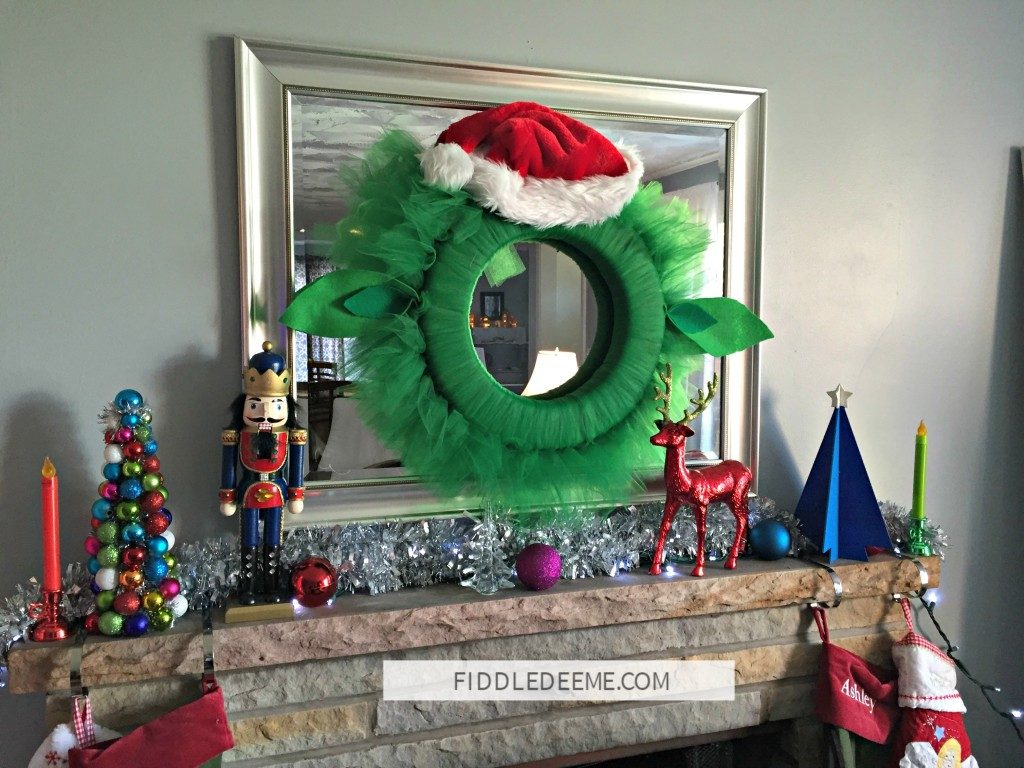 Yoda Tulle Wreath | FiddleDeeMe.com