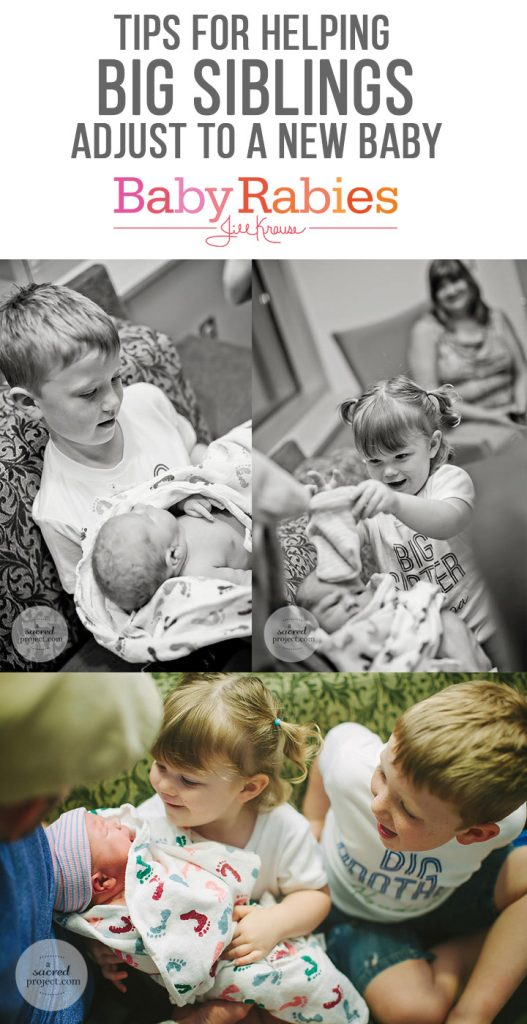 Tips for helping big siblings adjust to a new baby | BabyRabies.com
