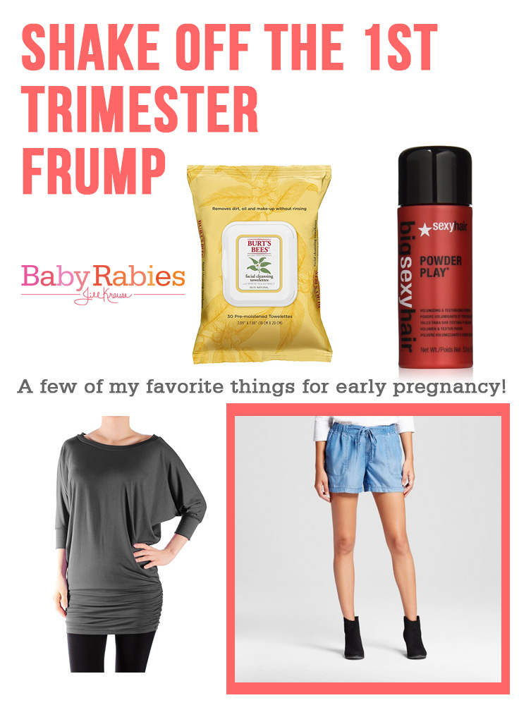 Shake Off The 1st Trimester Frump | BabyRabies.com