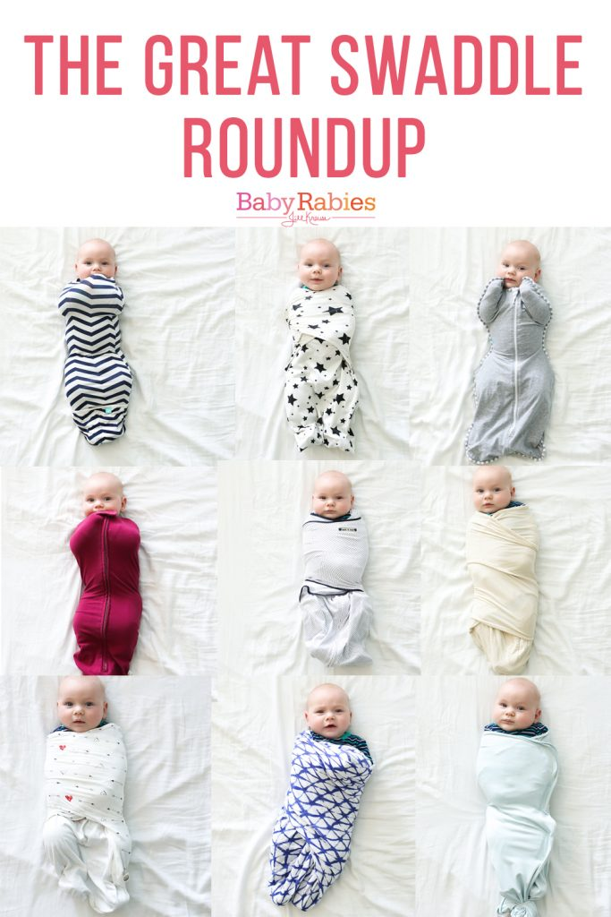 The Great Swaddle Roundup | BabyRabies.com
