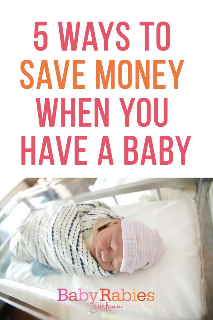 5 Ways To Save Money When You Have A Baby | BabyRabies.com in partnership with Allstate