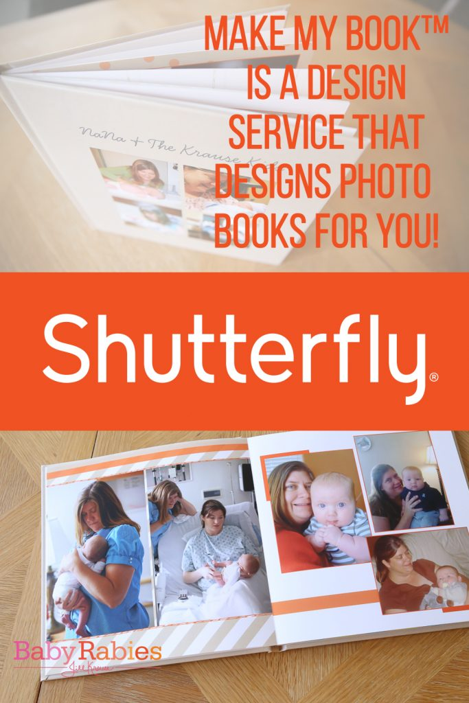 Shutterfly's Make My Book Design Service will design photo books for you! | BabyRabies.com