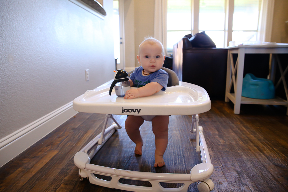 How To Personalize the Joovy Spoon baby walker | BabyRabies.com
