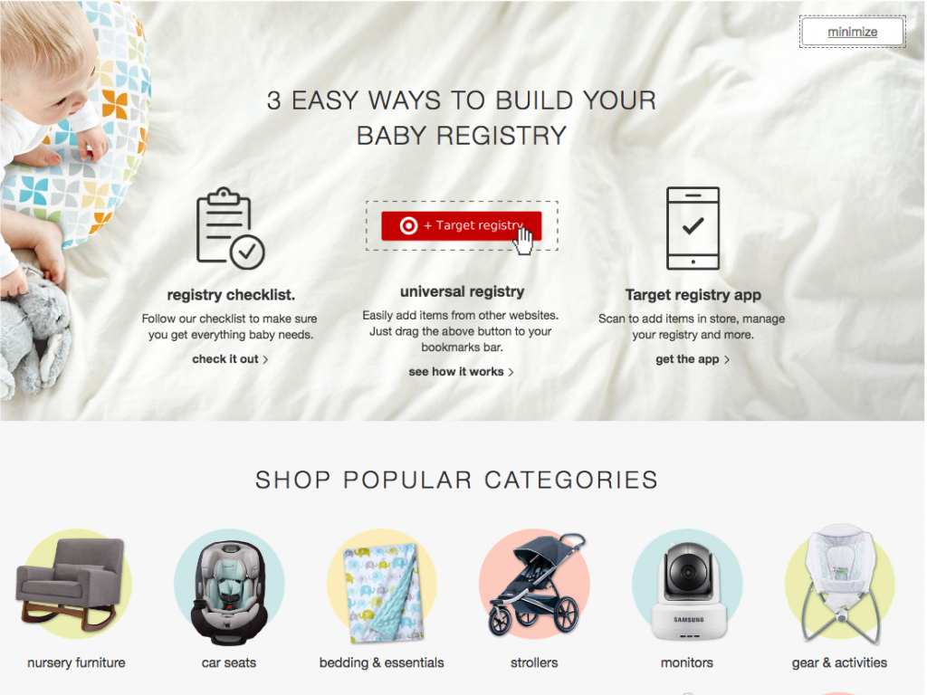 Target Wins At Everything, Including Baby Registries | BabyRabies.com