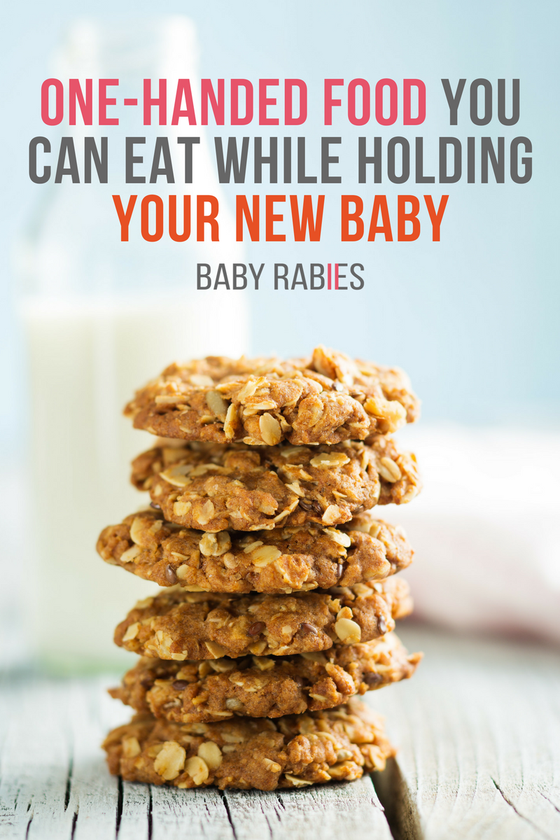 One-Handed Food You Can Eat While Holding Your New Baby
