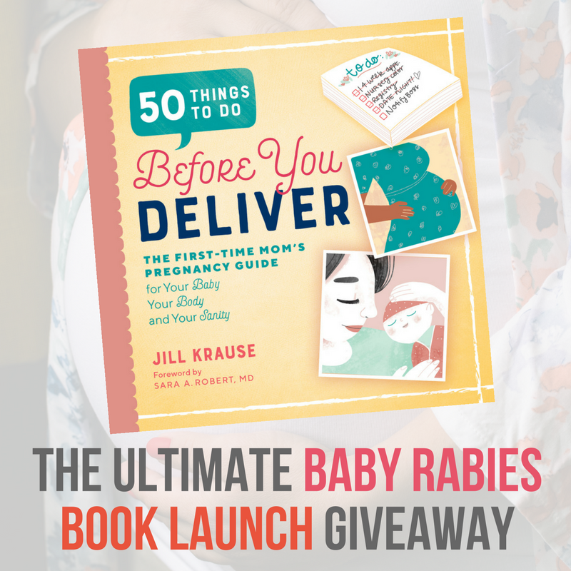 The Ultimate Baby Rabies Book Launch Giveaway square